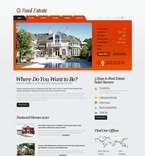 Real Estate PSD  Template 54274