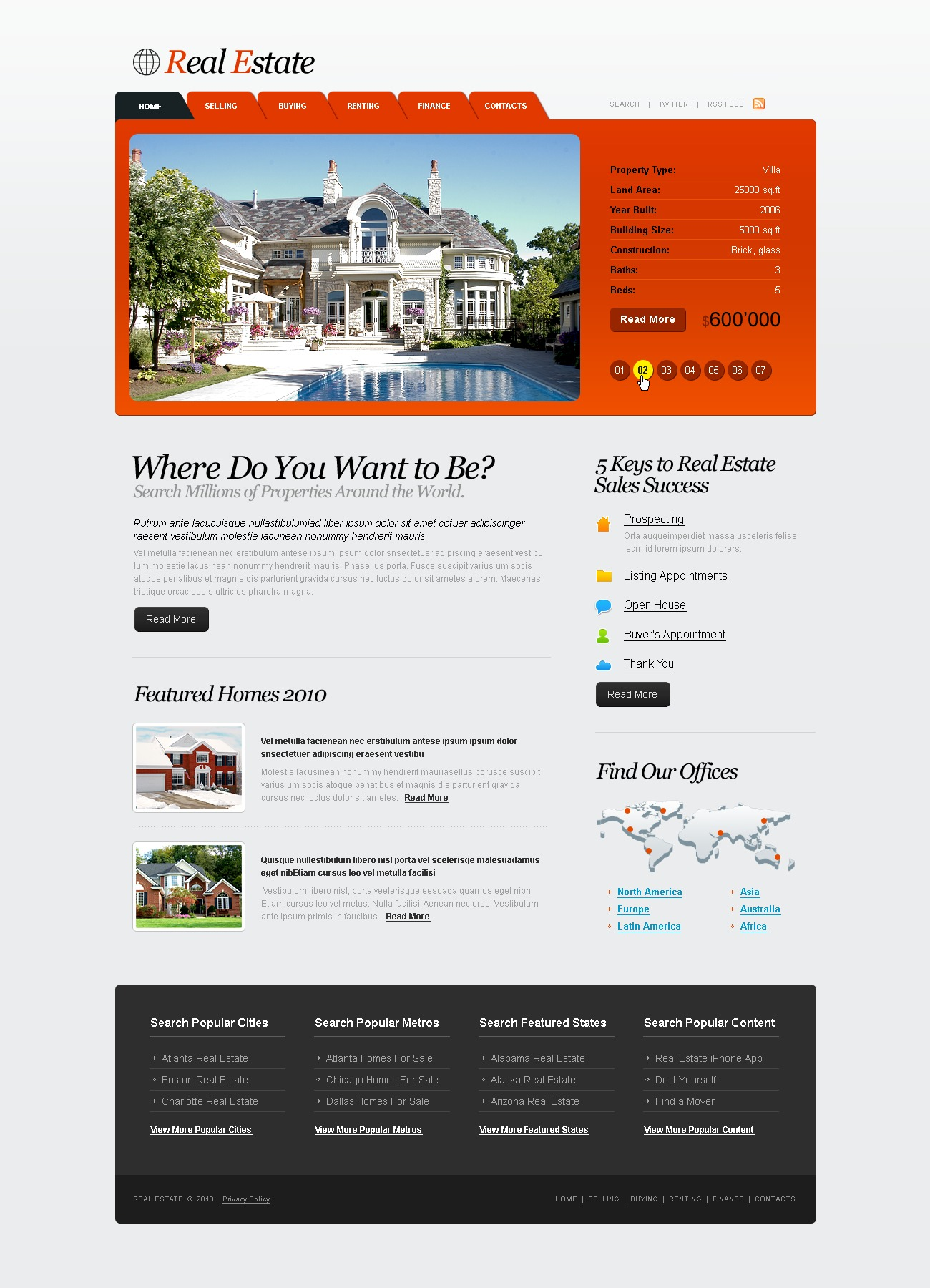 The Real Estate Agency PSD Design 54274, one of the best PSD templates of its kind (real estate, flash 8, wide), also known as real estate agency PSD template, services PSD template, house PSD template, home PSD template, apartment PSD template, buildings PSD template, finance PSD template, loan PSD template, sales PSD template, rentals PSD template, management PSD template, search PSD template, team PSD template, money PSD template, foreclosure PSD template, estimator PSD template, investment PSD template, development PSD template, constructions PSD template, architecture PSD template, engineering PSD template, apartment PSD template, sale PSD template, rent PSD template, architecture PSD template, broker PSD template, lots and related with real estate agency, services, house, home, apartment, buildings, finance, loan, sales, rentals, management, search, team, money, foreclosure, estimator, investment, development, constructions, architecture, engineering, apartment, sale, rent, architecture, broker, lots, etc.