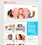 Dating PSD  Template 54275