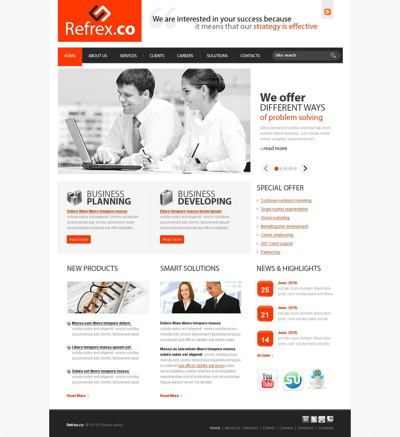 The Reflex Company PSD Design 54279, one of the best PSD templates of its kind (business, flash 8, wide), also known as reflex company PSD template, business company PSD template, corporate solutions PSD template, innovations PSD template, contacts PSD template, service PSD template, support PSD template, information dealer PSD template, stocks PSD template, team PSD template, success PSD template, money PSD template, marketing PSD template, director PSD template, manager PSD template, analytics PSD template, planning PSD template, limited PSD template, office PSD template, sales and related with reflex company, business company, corporate solutions, innovations, contacts, service, support, information dealer, stocks, team, success, money, marketing, director, manager, analytics, planning, limited, office, sales, etc.