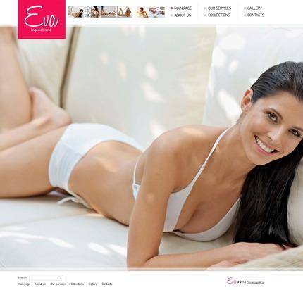 PSD макет сайта №54280