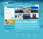 Travel PSD  Template 54281