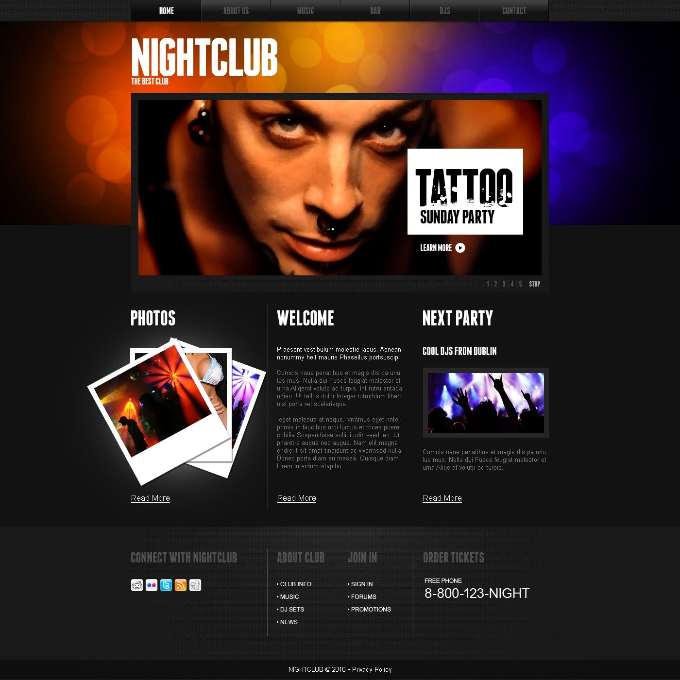 The Night Club PSD Design 54282, one of the best PSD templates of its kind (night club, flash 8, wide), also known as night club PSD template, music PSD template, dances PSD template, dancers PSD template, entertainment PSD template, joy PSD template, energy PSD template, free drinks PSD template, tickets PSD template, party PSD template, deejays PSD template, dj PSD template, events PSD template, beats PSD template, disks PSD template, songs PSD template, tunes PSD template, rhythms PSD template, gallery PSD template, photos PSD template, pictures PSD template, guests PSD template, participants PSD template, interview PSD template, stars PSD template, artists PSD template, funs PSD template, booking PSD template, mob PSD template, glamour girls PSD template, party PSD template, MC cockta and related with night club, music, dances, dancers, entertainment, joy, energy, free drinks, tickets, party, deejays, dj, events, beats, disks, songs, tunes, rhythms, gallery, photos, pictures, guests, participants, interview, stars, artists, funs, booking, mob, glamour girls, party, MC cockta, etc.