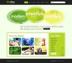 Web design PSD  Template 54287