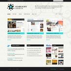 Web design PSD  Template 54292