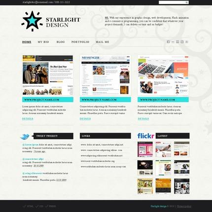 ADOBE Photoshop Template 54292 Home Page Screenshot