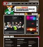 Web design PSD  Template 54293