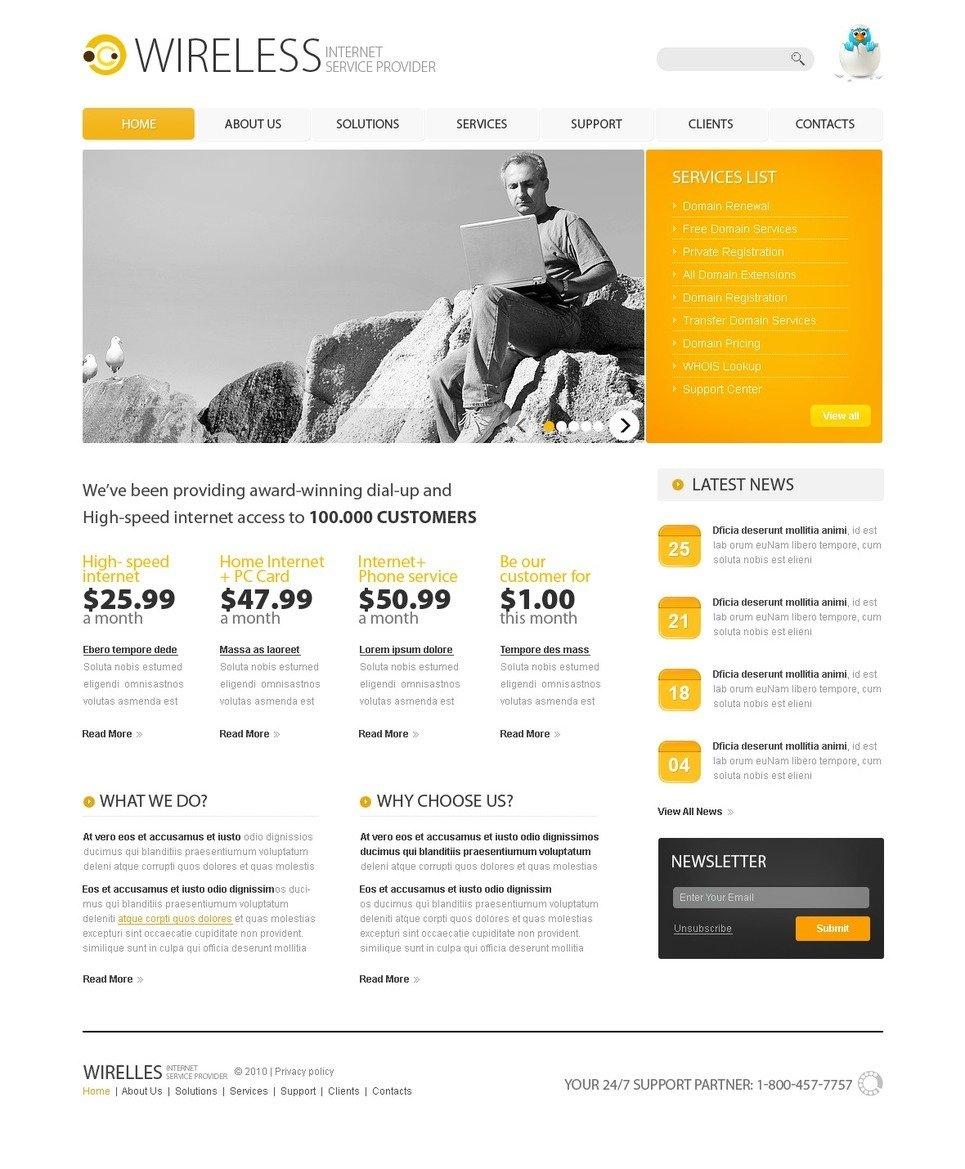 ISP PSD Template New Screenshots BIG