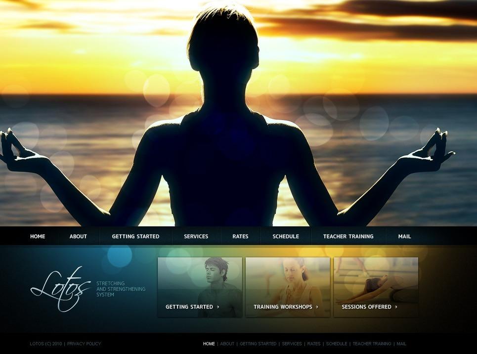 Yoga PSD Template New Screenshots BIG