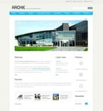 Architecture PSD  Template 54305
