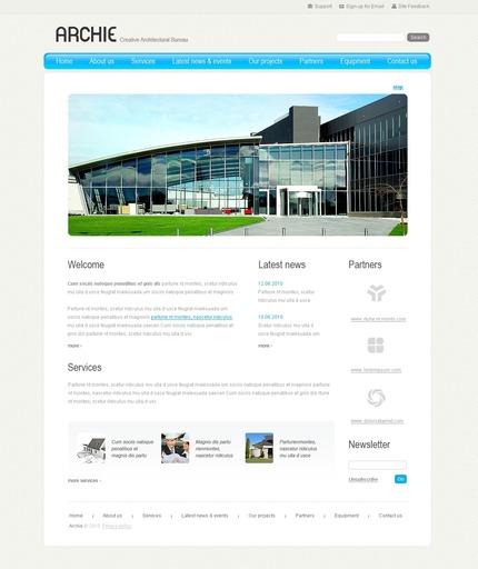 PSD макет сайта №54305