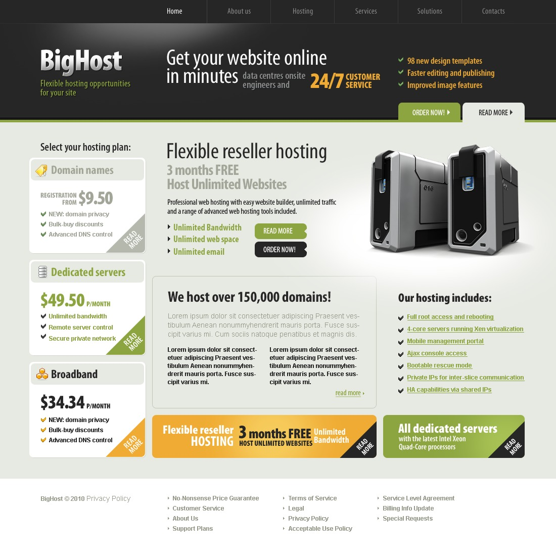The Big Host PSD Design 54307, one of the best PSD templates of its kind (hosting, flash 8, wide), also known as big host PSD template, hosting company solution PSD template, domain PSD template, services PSD template, beginner PSD template, plan PSD template, standard PSD template, advanced PSD template, dedicated PSD template, workteam PSD template, tools PSD template, special offer PSD template, server PSD template, monitoring PSD template, management PSD template, account PSD template, activation PSD template, client PSD template, technology solution PSD template, data center provider PSD template, traffic PSD template, internet PSD template, web IT processor PSD template, spa and related with big host, hosting company solution, domain, services, beginner, plan, standard, advanced, dedicated, workteam, tools, special offer, server, monitoring, management, account, activation, client, technology solution, data center provider, traffic, internet, web IT processor, spa, etc.
