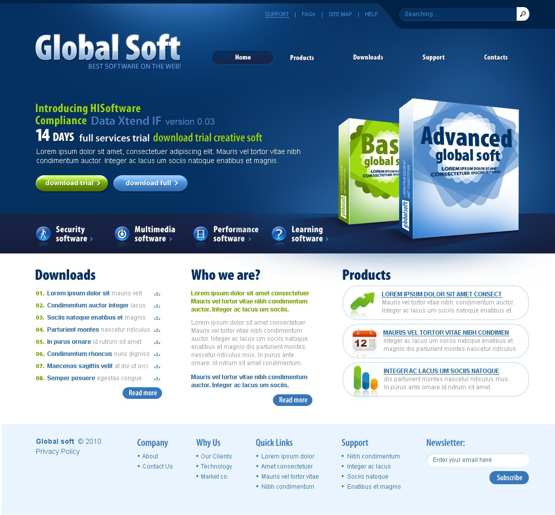 The Global Soft PSD Design 54311, one of the best PSD templates of its kind (software, flash 8, wide), also known as global soft PSD template, software company PSD template, enterprise solution PSD template, business PSD template, industry PSD template, technical PSD template, clients PSD template, customer support PSD template, automate PSD template, flow PSD template, services PSD template, plug-in PSD template, flex PSD template, profile PSD template, principles PSD template, web products PSD template, technology system and related with global soft, software company, enterprise solution, business, industry, technical, clients, customer support, automate, flow, services, plug-in, flex, profile, principles, web products, technology system, etc.