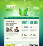 Web design PSD  Template 54312