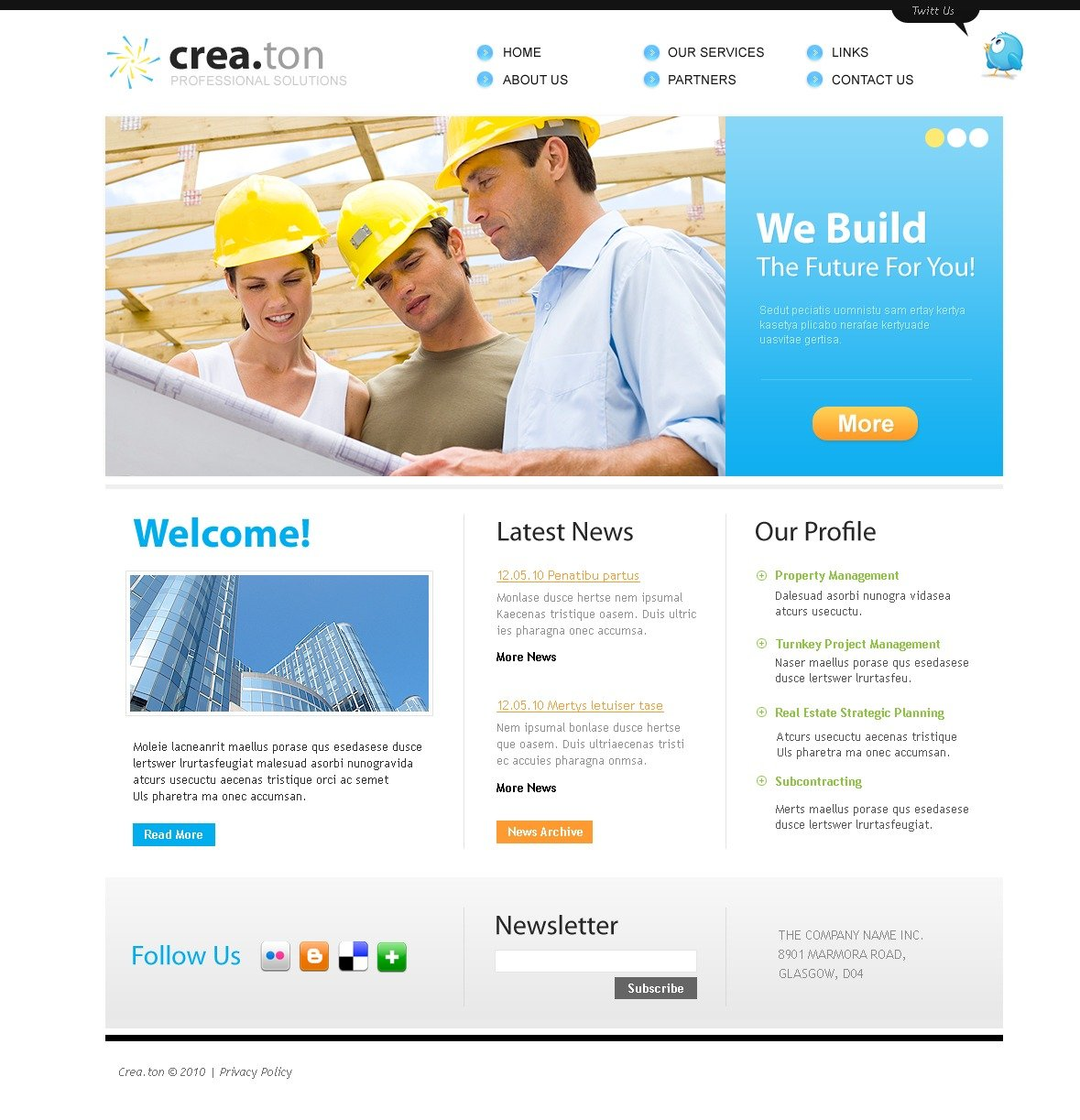 The Crea Ton PSD Design 54329, one of the best PSD templates of its kind (architecture, flash 8, wide), also known as crea ton PSD template, building PSD template, architecture company PSD template, buildings PSD template, technology PSD template, innovation PSD template, skyscrapers PSD template, projects PSD template, constructions PSD template, houses PSD template, work PSD template, team PSD template, strategy PSD template, services PSD template, support PSD template, planning solutions design PSD template, non-standard PSD template, creative ideas PSD template, catalogue PSD template, windows PSD template, doors PSD template, equipme and related with crea ton, building, architecture company, buildings, technology, innovation, skyscrapers, projects, constructions, houses, work, team, strategy, services, support, planning solutions design, non-standard, creative ideas, catalogue, windows, doors, equipme, etc.
