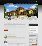 Real Estate PSD  Template 54331