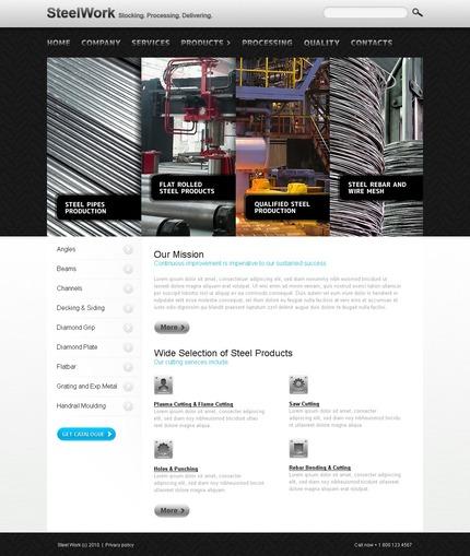 PSD макет сайта №54335
