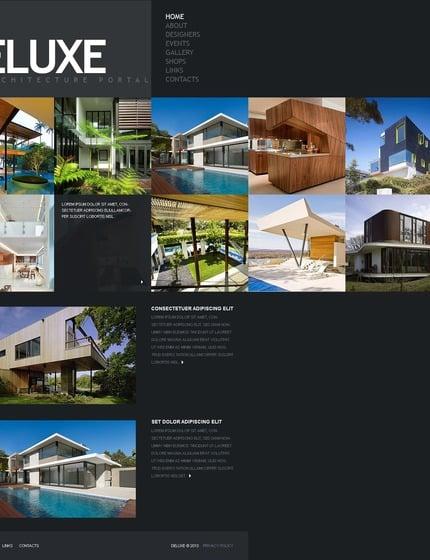 PSD макет сайта №54340