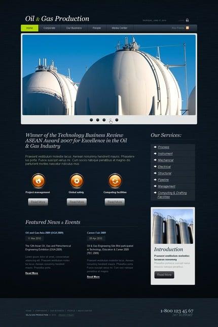 PSD макет сайта №54346