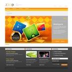 Web design PSD  Template 54351