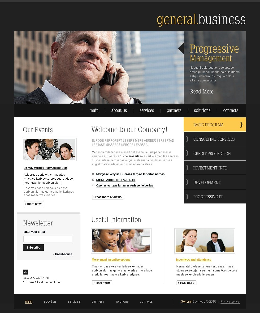 The General Business Company PSD Design 54354, one of the best PSD templates of its kind (business, flash 8, wide), also known as general business company PSD template, corporate solutions PSD template, innovations PSD template, contacts PSD template, service PSD template, support PSD template, information dealer PSD template, stocks PSD template, team PSD template, success PSD template, money PSD template, marketing PSD template, director PSD template, manager PSD template, analytics PSD template, planning PSD template, limited PSD template, office PSD template, sales and related with general business company, corporate solutions, innovations, contacts, service, support, information dealer, stocks, team, success, money, marketing, director, manager, analytics, planning, limited, office, sales, etc.