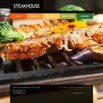 Cafe & Restaurant PSD  Template 54356