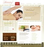 Beauty PSD  Template 54360