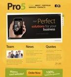 Web design PSD  Template 54361