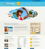 Travel PSD  Template 54375