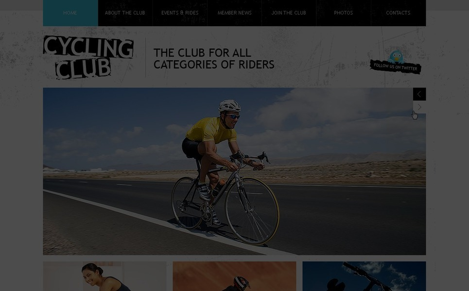 PSD Template over Fietsen  New Screenshots BIG