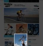 Sport PSD  Template 54382