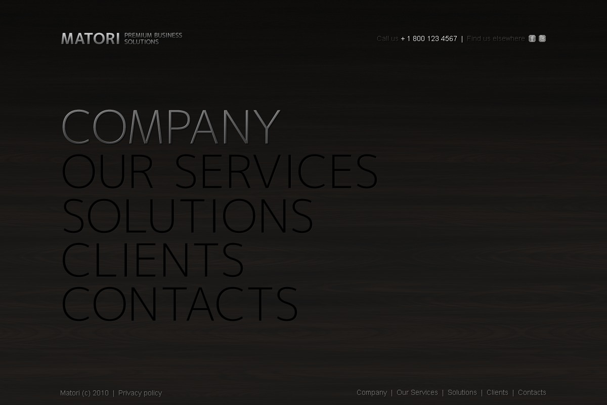 The Matori Business Company PSD Design 54385, one of the best PSD templates of its kind (business, wide, jquery), also known as matori business company PSD template, corporate solutions PSD template, innovations PSD template, contacts PSD template, service PSD template, support PSD template, information dealer PSD template, stocks PSD template, team PSD template, success PSD template, money PSD template, marketing PSD template, director PSD template, manager PSD template, analytics PSD template, planning PSD template, limited PSD template, office PSD template, sales and related with matori business company, corporate solutions, innovations, contacts, service, support, information dealer, stocks, team, success, money, marketing, director, manager, analytics, planning, limited, office, sales, etc.