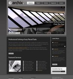Architecture PSD  Template 54386