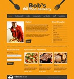 Food & Drink PSD  Template 54394