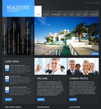 Real Estate PSD  Template 54399