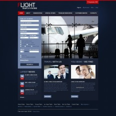 airline tickets psd templates templatemonster