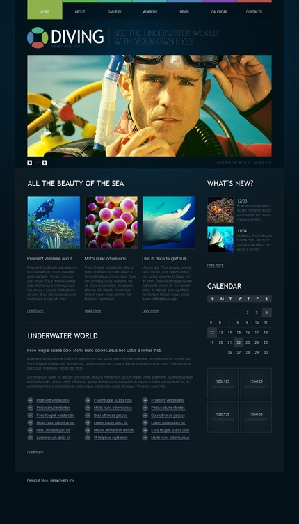 Website Template #54406