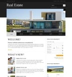 Real Estate PSD  Template 54408