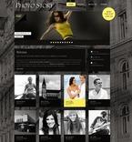 Art & Photography PSD  Template 54410