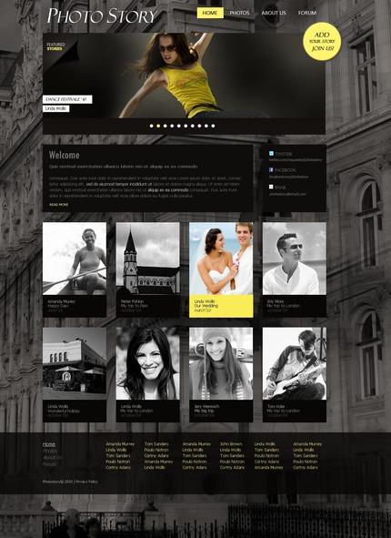 PSD макет сайта №54410