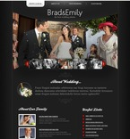 Wedding PSD  Template 54415