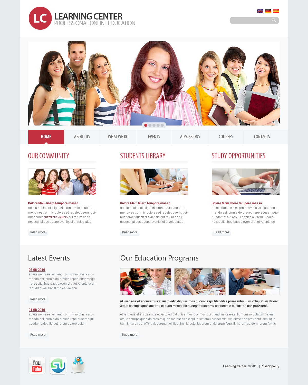 The Learning Education Center PSD Design 54422, one of the best PSD templates of its kind (education, flash 8, wide), also known as learning education center PSD template, college PSD template, science PSD template, admission PSD template, faculty PSD template, department PSD template, class PSD template, alumni PSD template, student PSD template, professor PSD template, enrollment PSD template, union PSD template, library PSD template, auditorium PSD template, graduate PSD template, direction PSD template, tests PSD template, entrance PSD template, examination PSD template, exam PSD template, sport PSD template, community PSD template, party PSD template, administration PSD template, rector PSD template, head PSD template, dean PSD template, college and related with learning education center, college, science, admission, faculty, department, class, alumni, student, professor, enrollment, union, library, auditorium, graduate, direction, tests, entrance, examination, exam, sport, community, party, administration, rector, head, dean, college, etc.