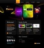 Web design PSD  Template 54426
