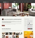 Hotels PSD  Template 54427