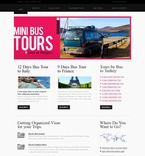 Travel PSD  Template 54429