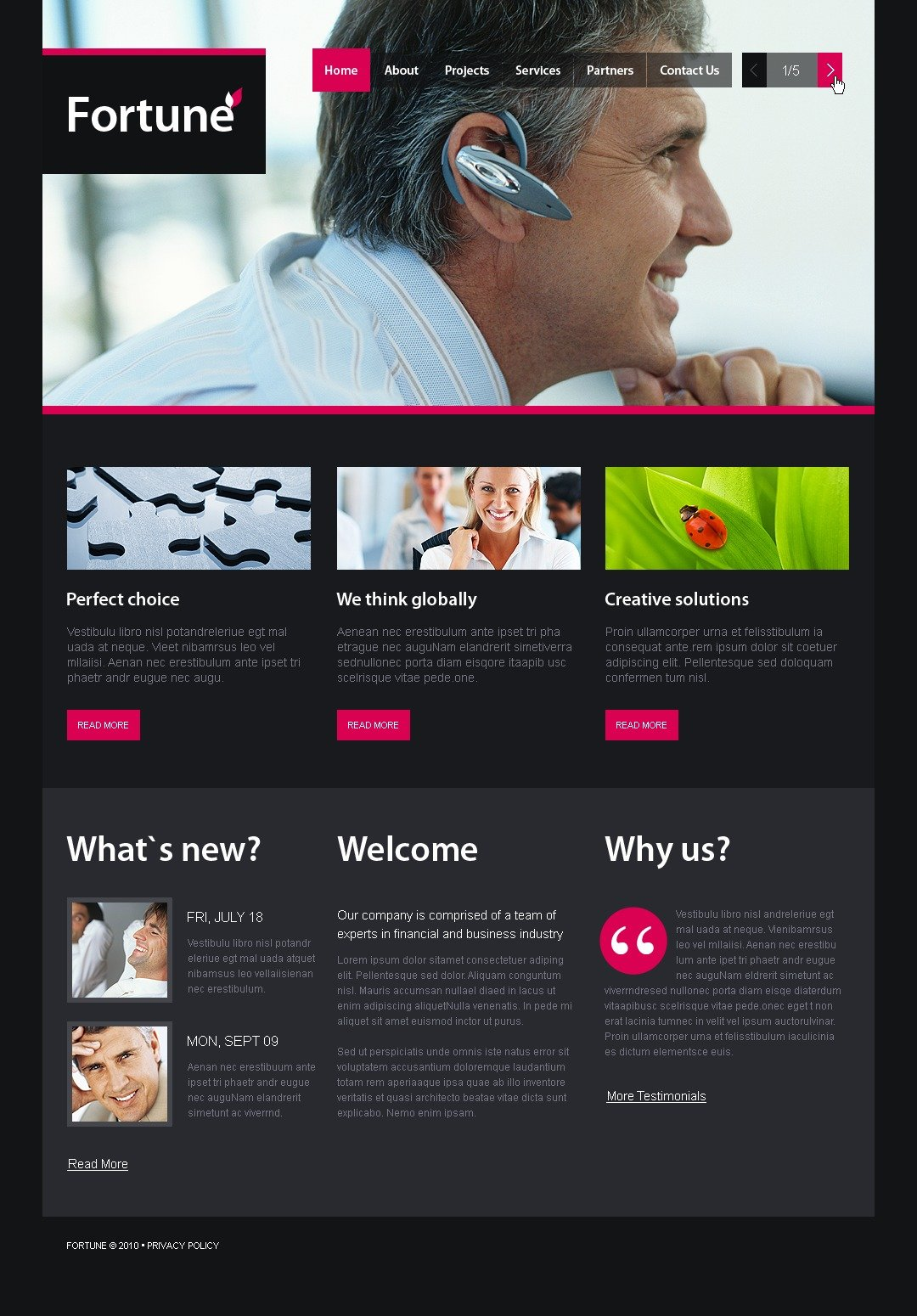 The Fortune Business Company PSD Design 54432, one of the best PSD templates of its kind (business, wide, jquery), also known as fortune business company PSD template, corporate solutions PSD template, innovations PSD template, contacts PSD template, service PSD template, support PSD template, information dealer PSD template, stocks PSD template, team PSD template, success PSD template, money PSD template, marketing PSD template, director PSD template, manager PSD template, analytics PSD template, planning PSD template, limited PSD template, office PSD template, sales and related with fortune business company, corporate solutions, innovations, contacts, service, support, information dealer, stocks, team, success, money, marketing, director, manager, analytics, planning, limited, office, sales, etc.