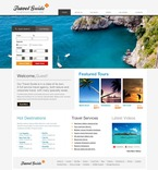 Travel PSD  Template 54434