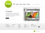 Web design PSD  Template 54442