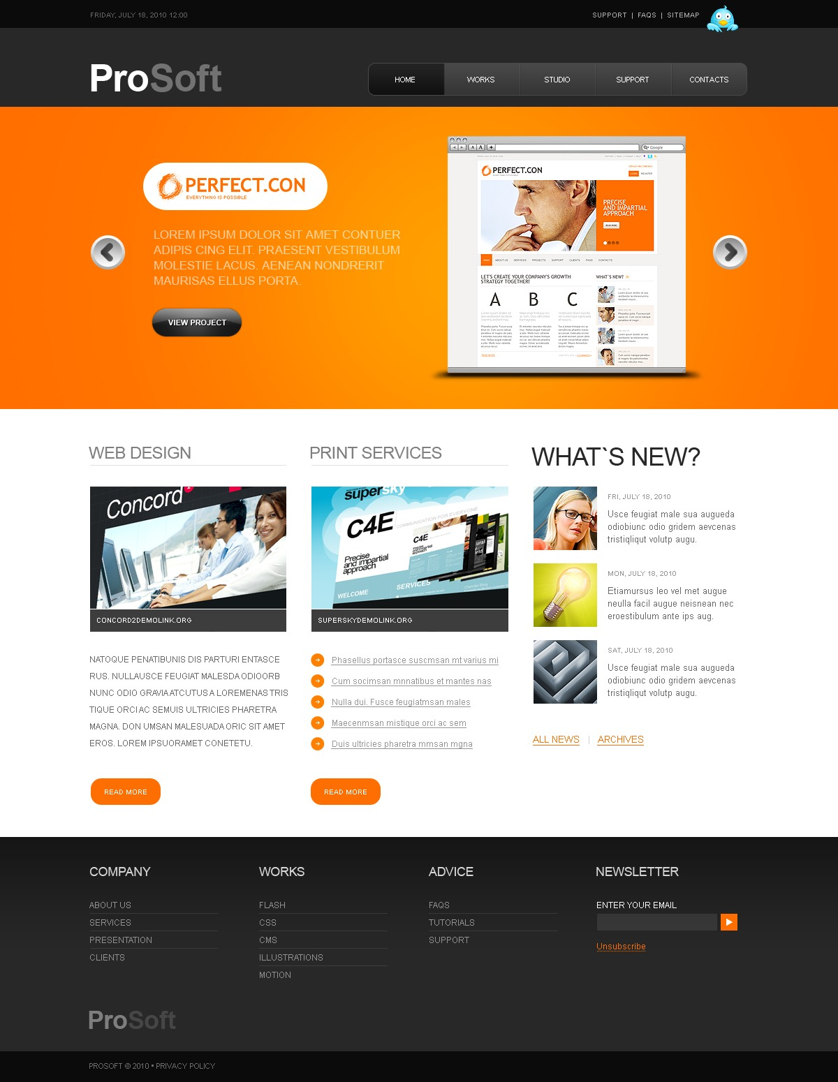 The Prosoft Software Company PSD Design 54454, one of the best PSD templates of its kind (software, flash 8, wide), also known as prosoft software company PSD template, enterprise solution PSD template, business PSD template, industry PSD template, technical PSD template, clients PSD template, customer support PSD template, automate PSD template, flow PSD template, services PSD template, plug-in PSD template, flex PSD template, profile PSD template, principles PSD template, web products PSD template, technology system and related with prosoft software company, enterprise solution, business, industry, technical, clients, customer support, automate, flow, services, plug-in, flex, profile, principles, web products, technology system, etc.
