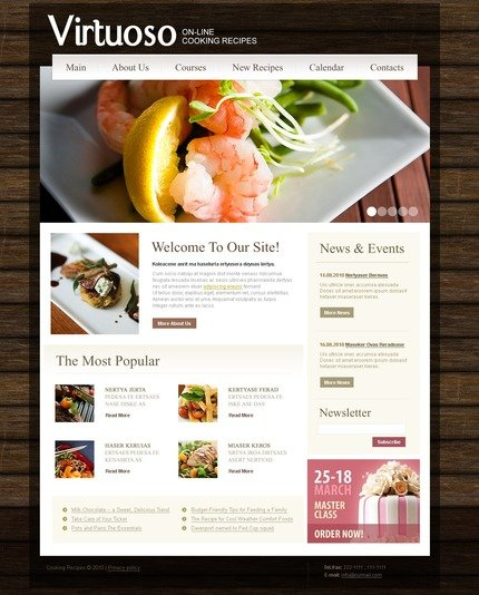 Website Template #54457